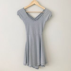 Brandy Melville Striped Bethan Dress